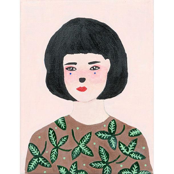 Portrait of Lily Jane: Kitty by Li Shan Chong