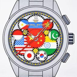 W Global Watch D12 - 01 by Wang Luyan