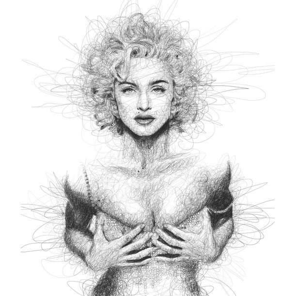 Madonna by Vince Low
