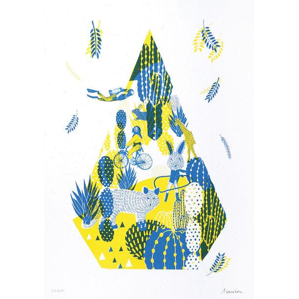 Lost in a Little Garden by Manisa Lekprayoon