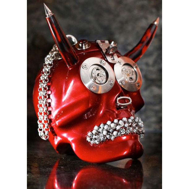 El Diablo From the Yorick Series (Sculpture / Handbag) by Michelline Syjuco