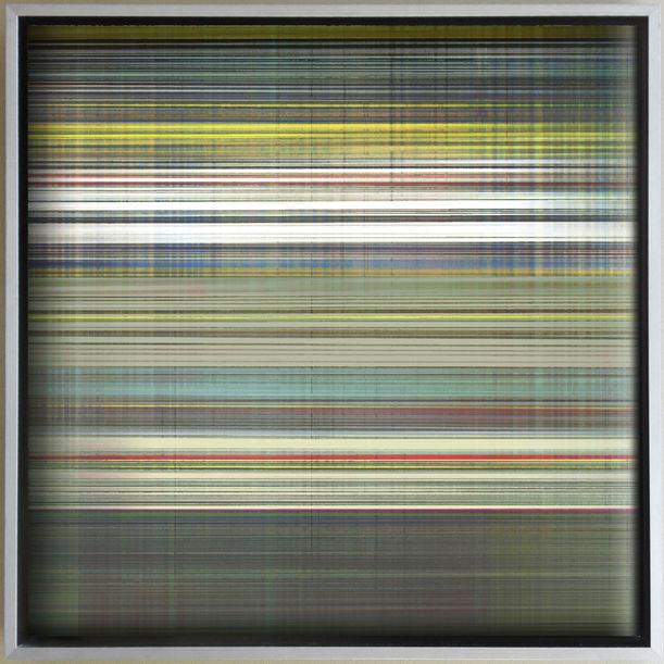 City scape 25, New York Stripe by Hiroshi Jashiki