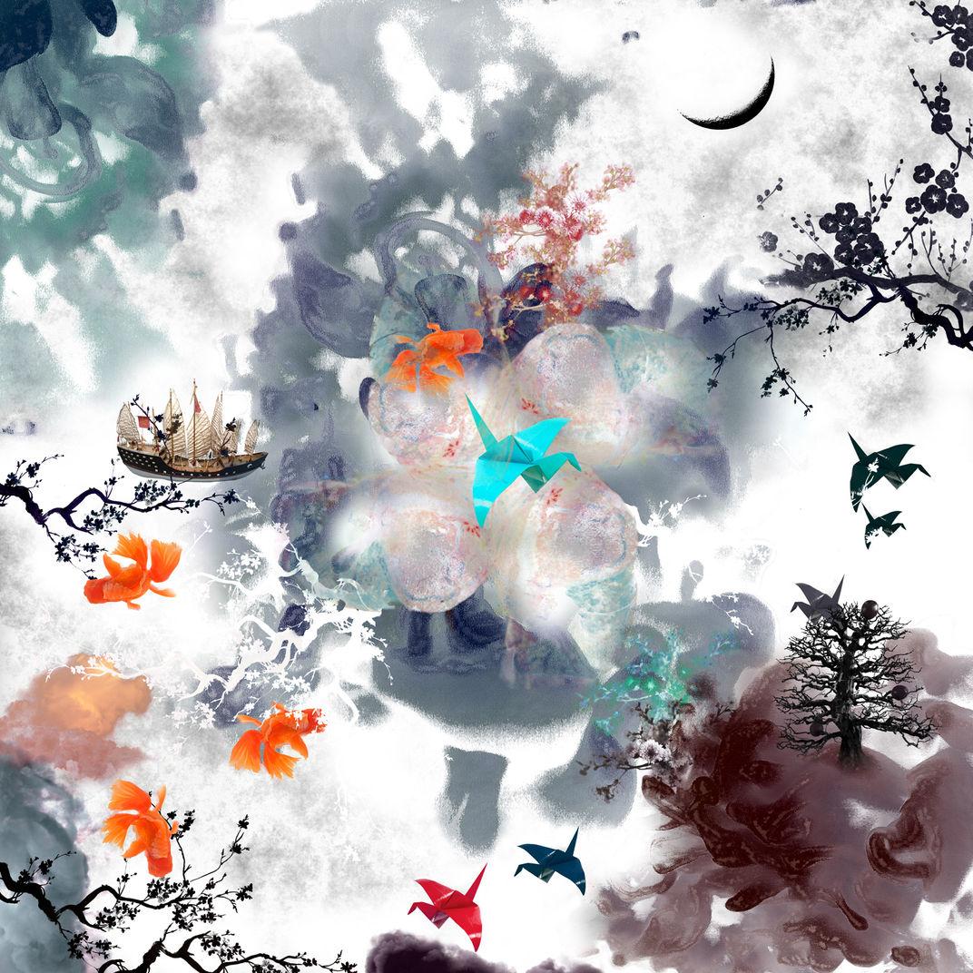 Oriental Memory III Chinese (White Edition) by Guang-Yu Zhang