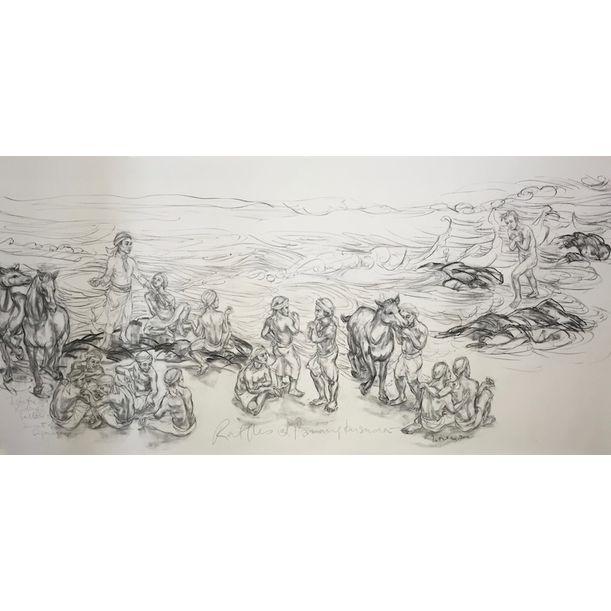 Raffles at Parangkusuma - Labuhan by Jimmy Ong