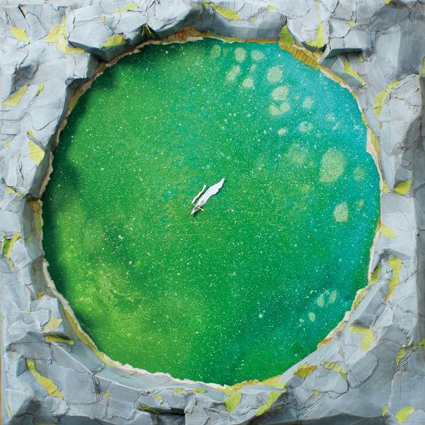 Emerald Lake by Sangjun Roh