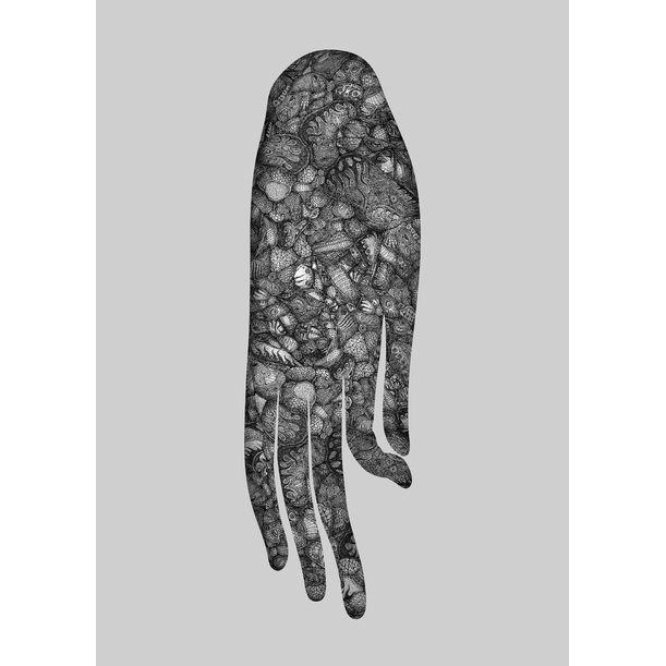 Hanged hand of Buddha by Sting Chen
