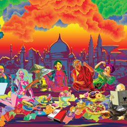 The Last Asian Supper by Ketna Patel