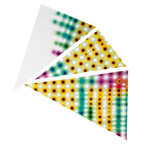 Triangle Lights by Li Shurui