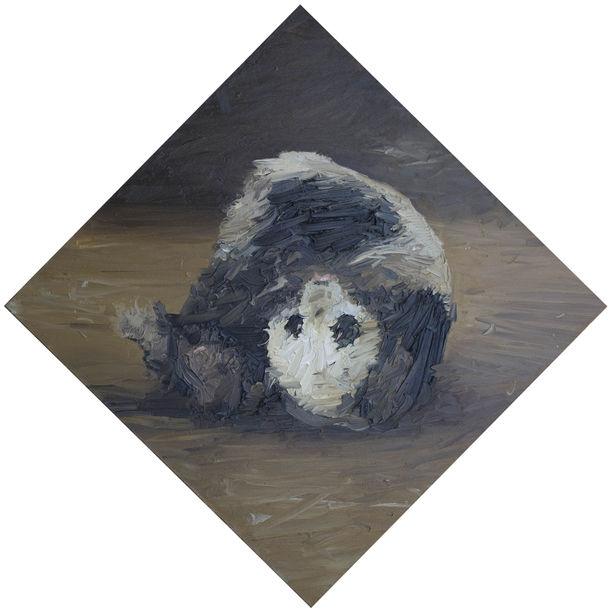 Rolling Panda by Zhao Ji Feng