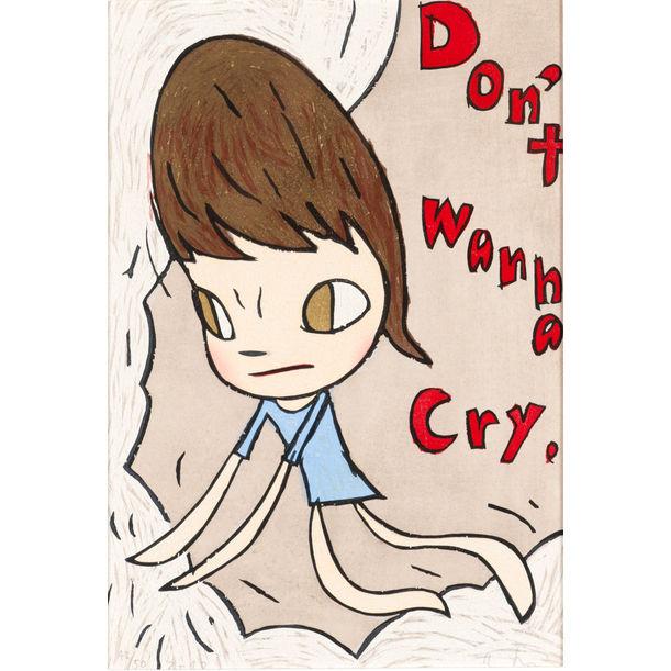 Don't wanna cry by Yoshitomo Nara