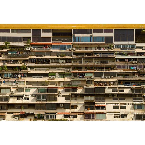 Golden Mile Complex (Back View) by Darren Soh
