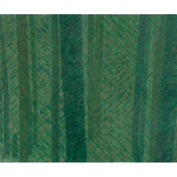 Thousand-Layer Green No. 3 by Li Wei