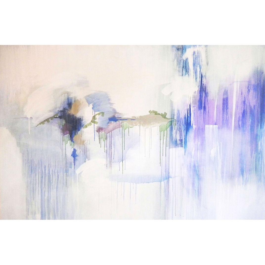 Light 4 (Cerulean, Cyan, Prussian, Ultramarine) by Tarini Ahuja