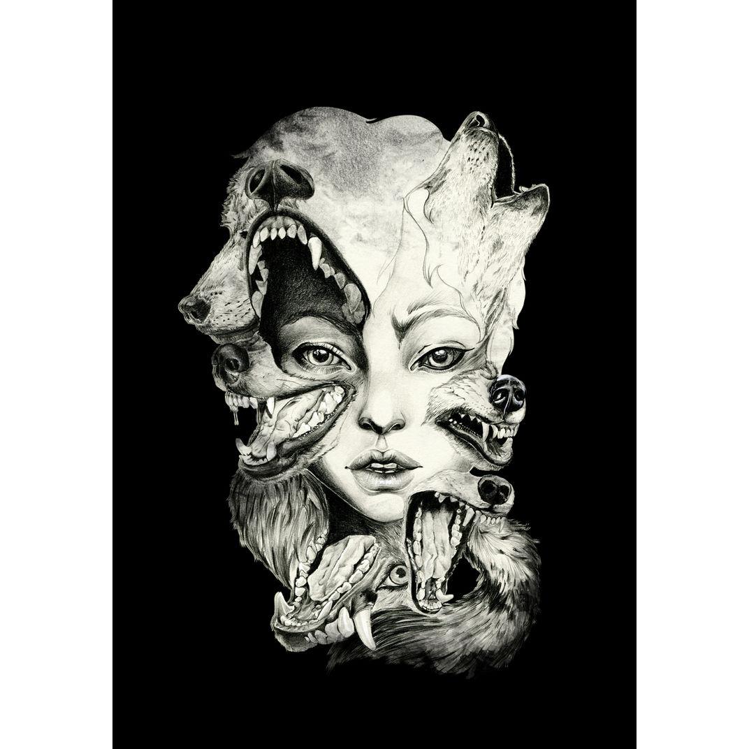 Wolf by Kristal Raelene Melson
