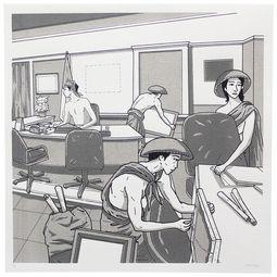 Soekarno Kehilangan Lukisan (Soekarno Lost His Painting)  #6 by Prihatmoko Moki
