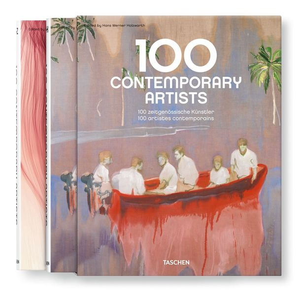 100 Contemporary Artists A-Z, 2 Volumes. by Hans Werner Holzwarth