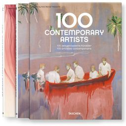100 Contemporary Artists A-Z, 2 Volumes.