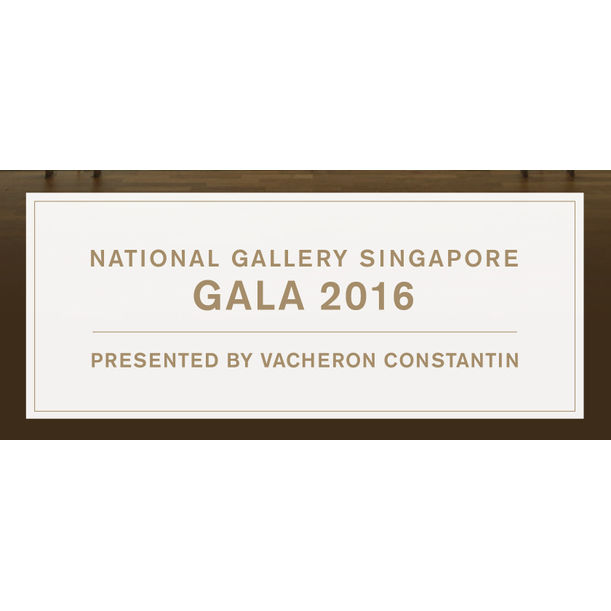 The National Gallery Singapore Gala 2016