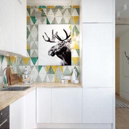 Patterned Kitchen