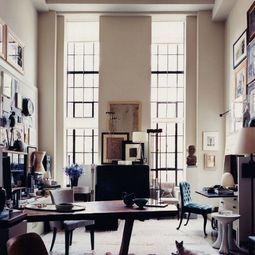 Sun lit Office