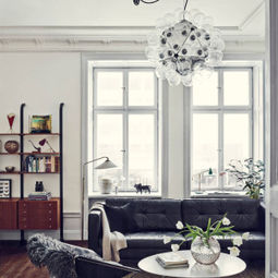 Apartment with Monochrome Furnishings
