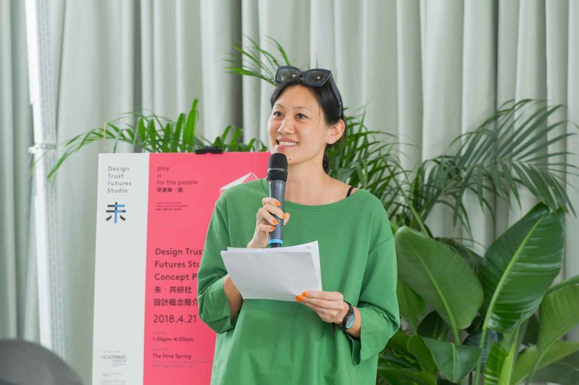 "Marisa Yiu, Co-founder of Design Trust: ""The grand vision is to remain relevant, productive, flexible and contextual"""