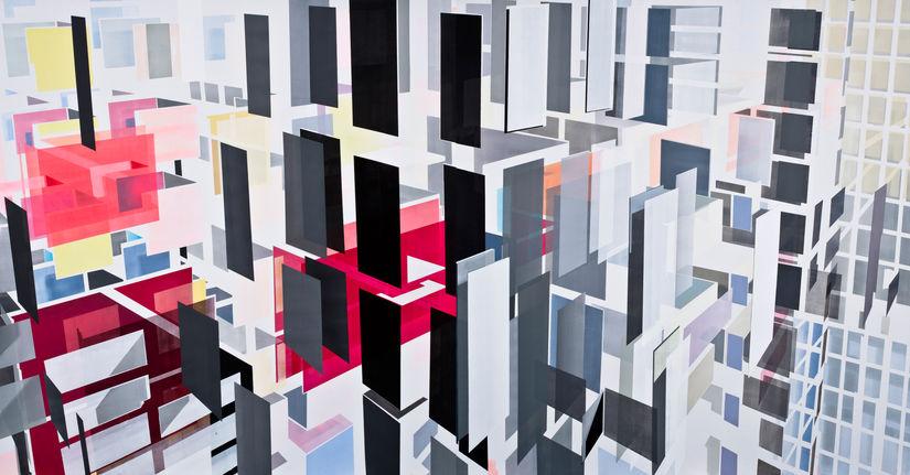"Nuri Kuzucan's exhibition ""n a m e"" at Edouard Malingue Gallery, Shanghai"