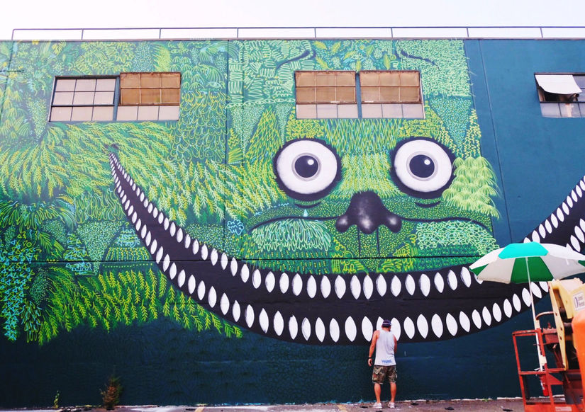 On The Rise: Yoshi47 & his Cheery Monster Murals