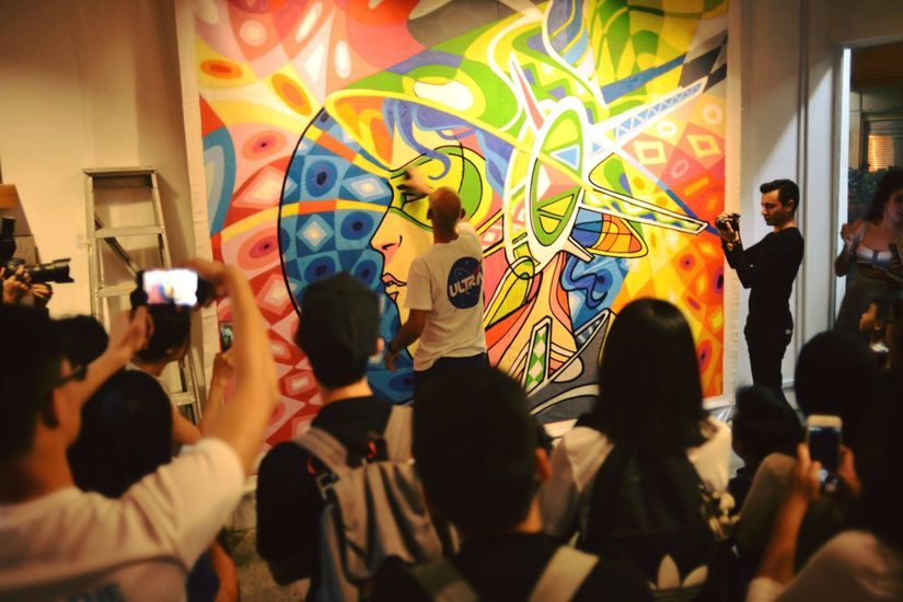 Street Art In The Gallery