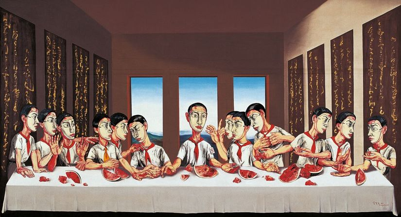 Last Supper, Zeng Fanzhi