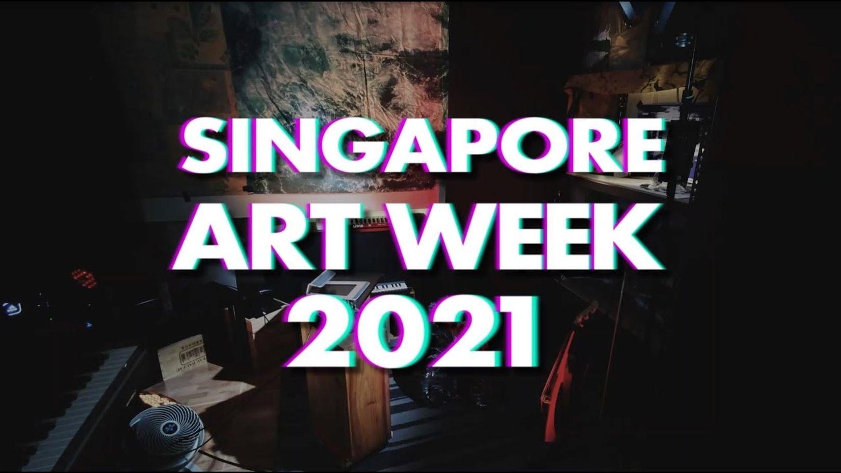'Art Takes Over' at Singapore Art Week 2021
