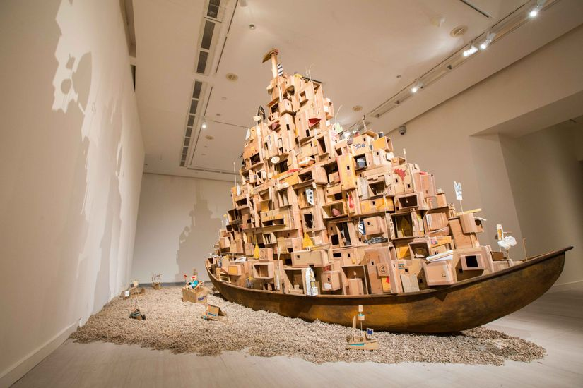 """Odyssey: Navigating Nameless Seas"" at the Singapore Art Museum"