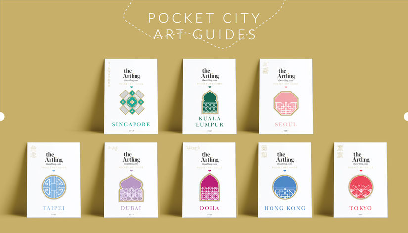 Launch of The Artling City Guides & Pocket Art Guides