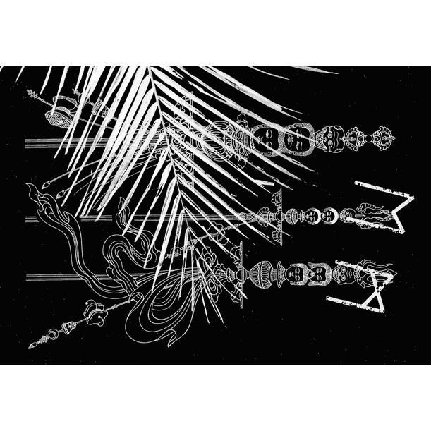 My Crest Jewels of Wisdom XIII by andy wauman