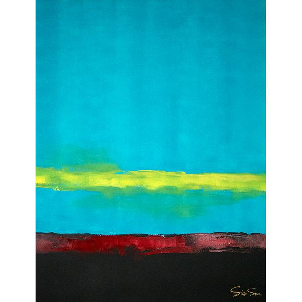 Blue by Sisi Sun