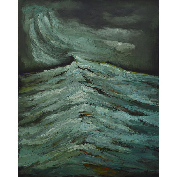 Waves by Ly Tran Quynh Giang