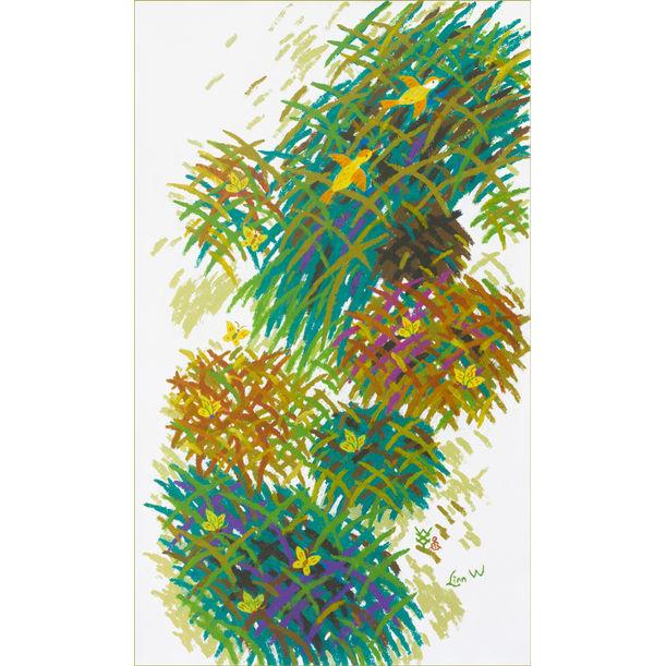 d20 Tropical rhythm by Linn Wang   王小愚