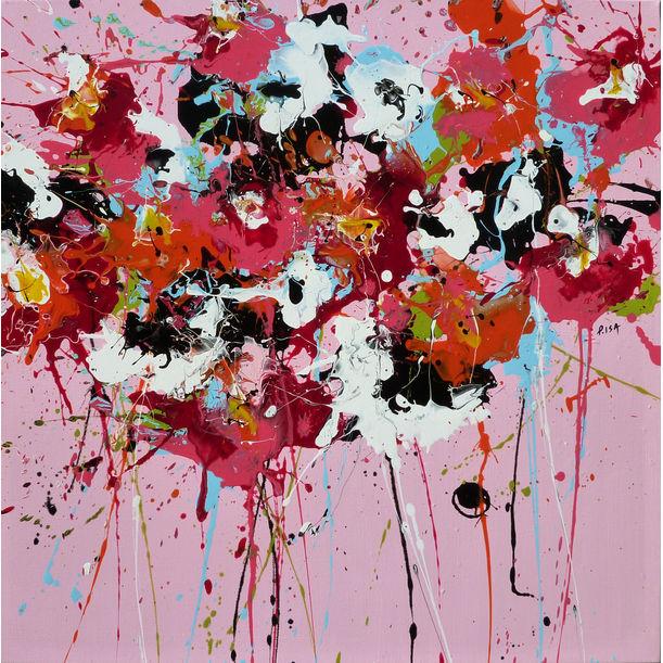 Pink Posy by Isabelle Pelletane