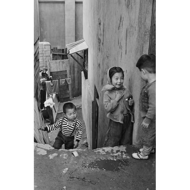 Malli-dong, Seoul, Korea 1959, by Han Youngsoo