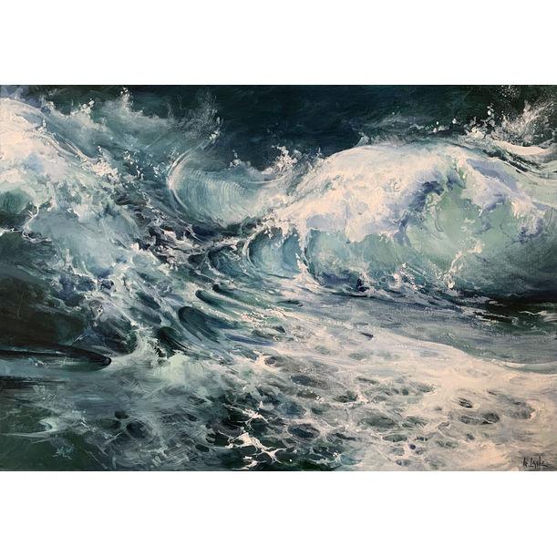 Ocean cubes VII by Irina Laube