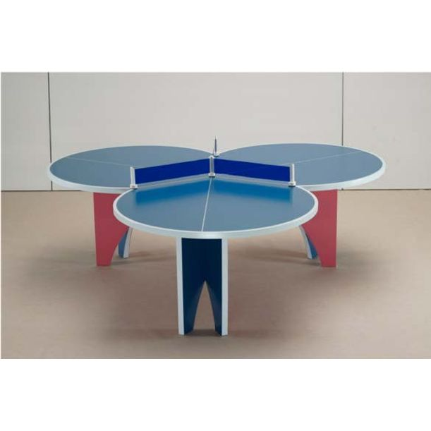 Ping Pong Table/6 Paddles by Lin Jing
