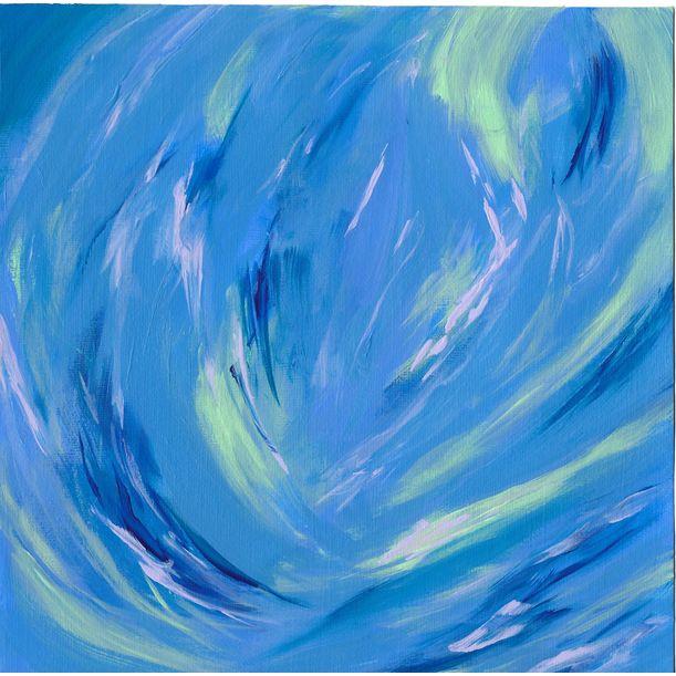 blue dream by Karen Yu