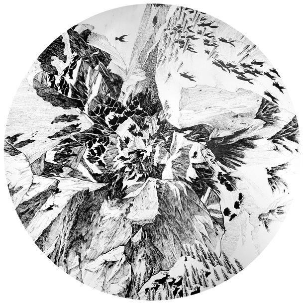 Mountain by Kwanchai Lichaikul