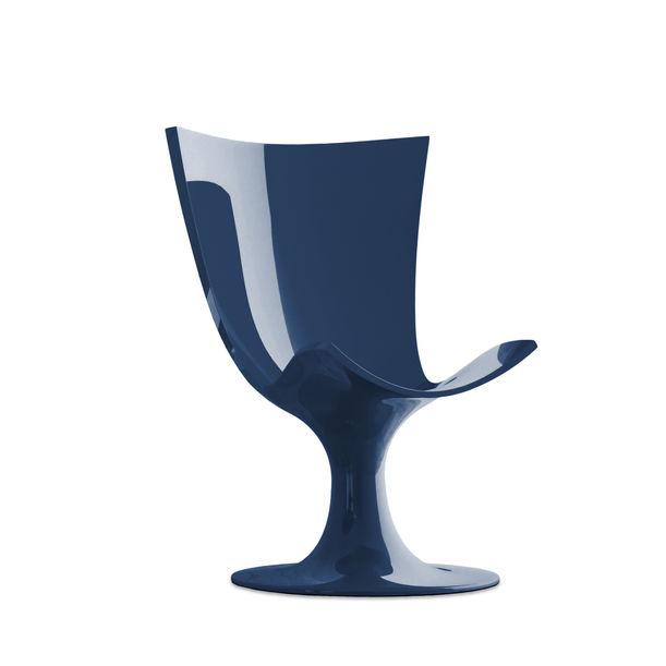 Santos Chair: Imposing Blue Seat by Joel Escalona