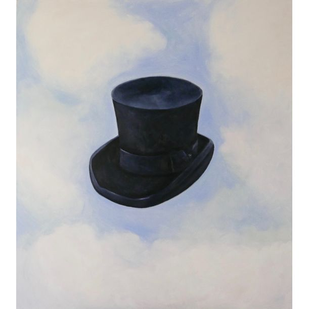 Hat in the clouds by Ta Thimkaeo