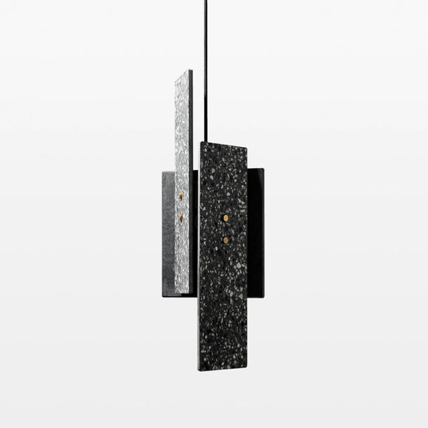 Piece Terrazzo Pendant Light by Bentu Design