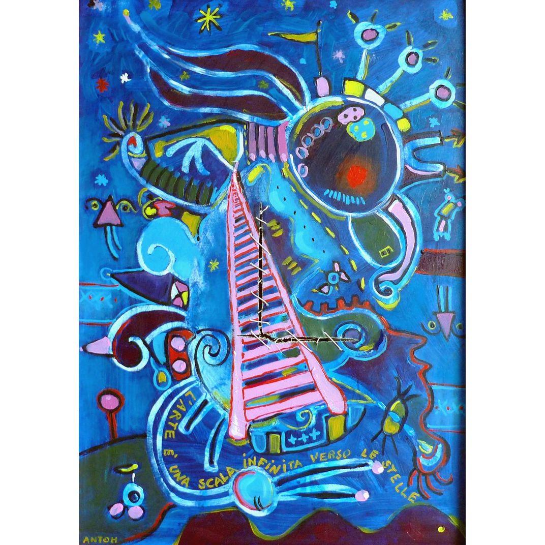 L'arte è una scala by Antoh (Antonio Mansueto)
