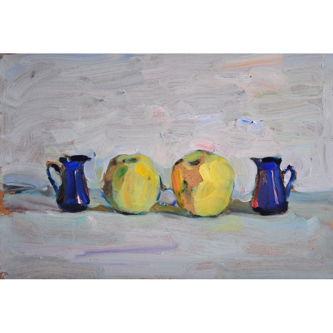Two Blue, Two Yellow by Yaroslava Tichshenko