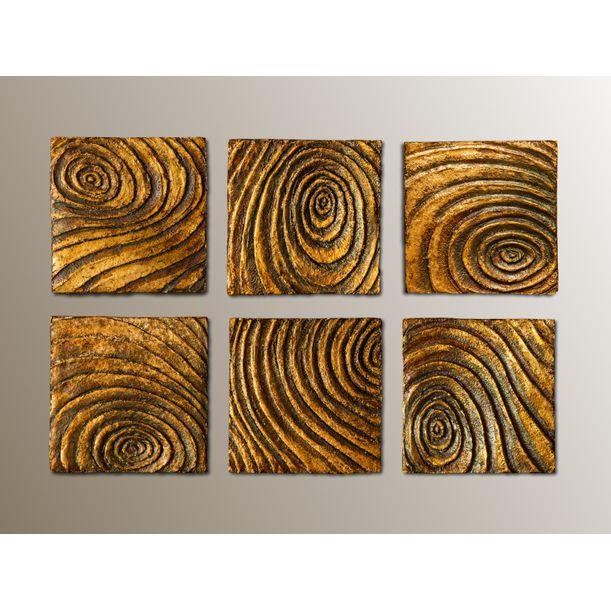 Woodcuts #6 by Giulia Madonia