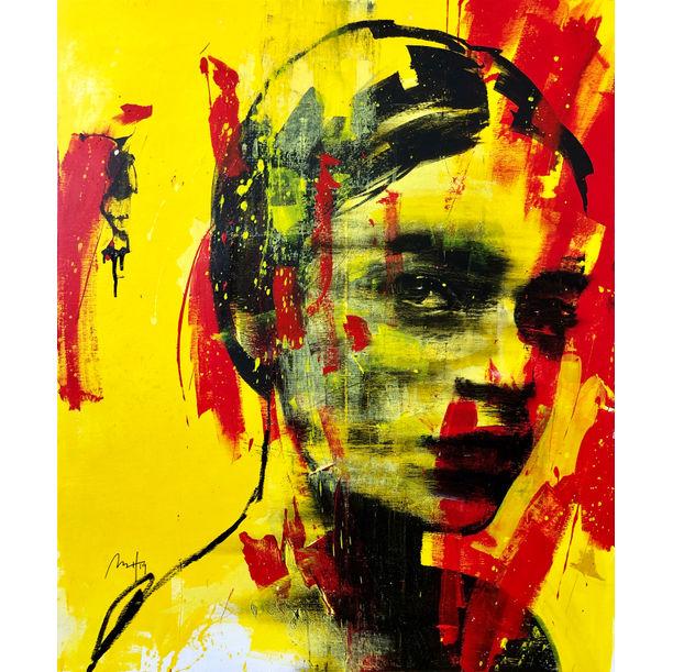 Girl in Yellow No. 2 by Mario Henrique